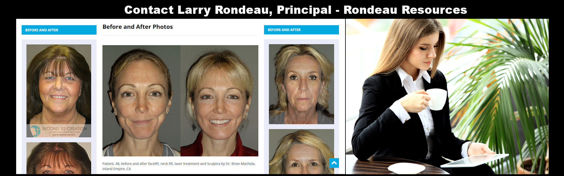 Rondeau Resources,Larry Rondeeau