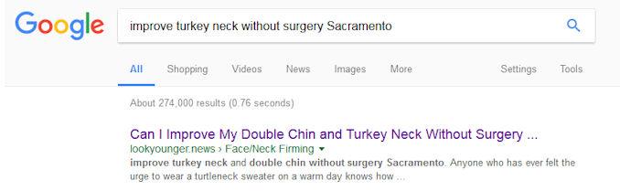 LookYounger.News, SEO, healthcare content marketing, online marketing strategies, facial plastic surgeons