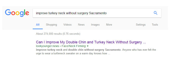 article writing, SEO, facial plastic surgeon, inbound marketing